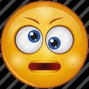 cartoon, emoji, emotion, face, funny, rolling eyes, smiley icon