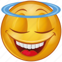 blessing, cartoon, character, emoji, emotion, face, smiley