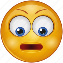cartoon, character, down eyes, emoji, emotion, face, smiley
