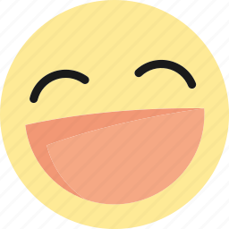 emoji, emoticons, happy, laugh, laughing, lol icon