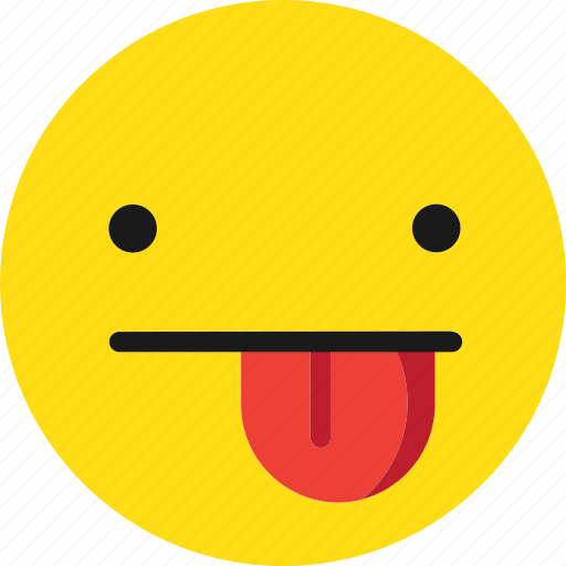 emoji, emoticons, fun, joke, kidding icon