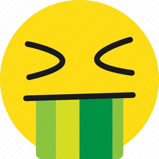 bad, disgusting, do not like, emoji, emoticons icon