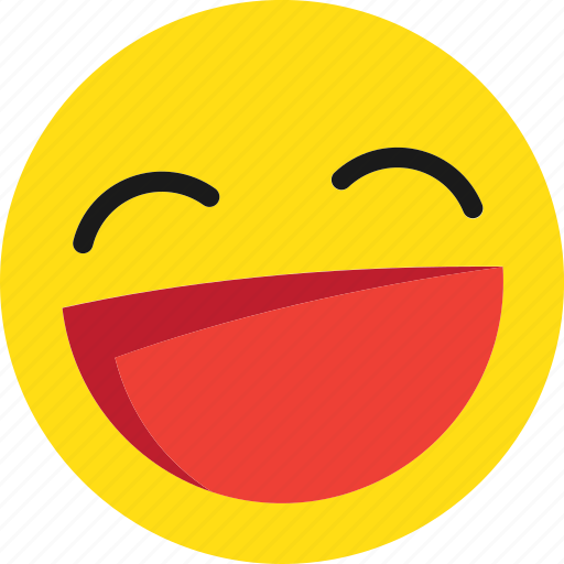 emoji, emoticons, happy, laugh, laughing, lol, smile icon