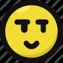 emoji, emoticon, feelings, malicious, seductive, smileys, wink