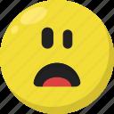 emoji, emoticon, feelings, shock, shocked, smileys, surprised