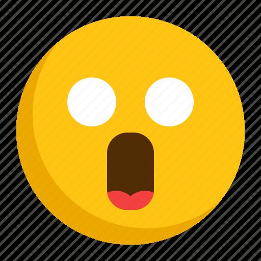 Emoji, emoticon, shock, surprised icon - Download on Iconfinder