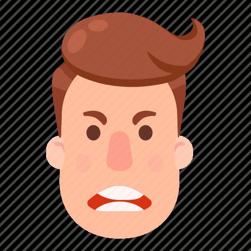 avatar, emoji, emoticon, emotion, emotions, face, smile icon