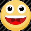 emoji, emotion, lol, smile