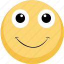emoji, emotion, facebook, happy, smile icon