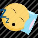 emoji, emotion, facebook, rest, sleep, tired