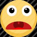 emoji, emotion, open mouth, shock