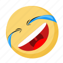 emoji, emotion, facebook, rofl, smile icon