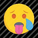 face, emoji, emoticon, facewithtongue, feeling