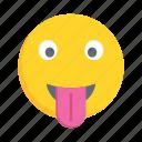 face, emoji, emoticon, facewithtongue, smiley