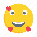 face, emoji, emoticon, lovely, smiley