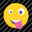 face, emoji, emoticon, winking, smiley