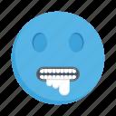 face, emoji, emoticon, vomiting, smiley