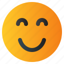chat, emoji, emoticon, emotion, expression, face, smile icon