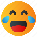 chat, emoji, emoticon, emotion, expression, face, laugh