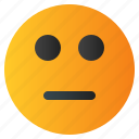 chat, emoji, emoticon, emotion, expression, face, silent icon