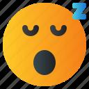 chat, emoji, emoticon, emotion, expression, face, sleep icon