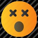 chat, confuse, emoji, emoticon, emotion, expression, face