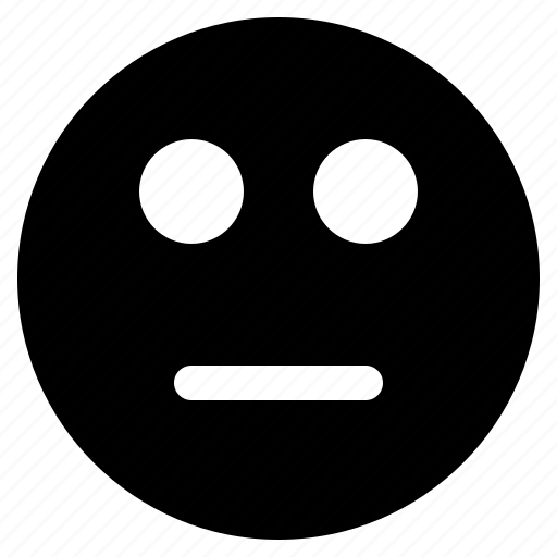 chat, emoji, emoticon, emotion, expression, face, silent icon
