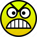 angry, furious, mad, outrage icon