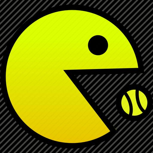 eating, tennisball icon
