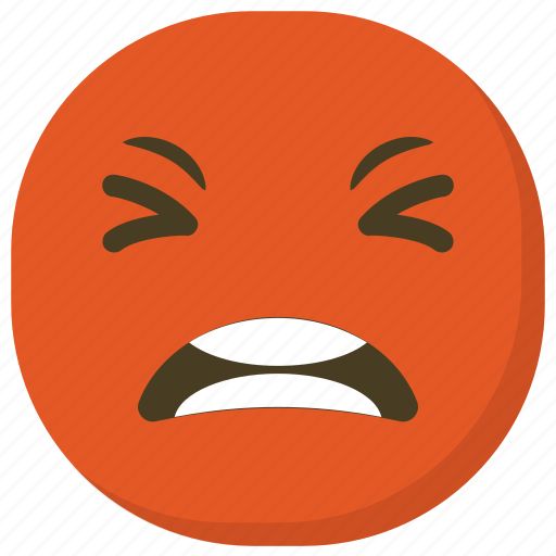 Angry Emoji Angry Face Emoticon Ideogram Smiley Icon