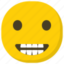 emoticon, expressions, feelings, laughing emoji, smiling icon