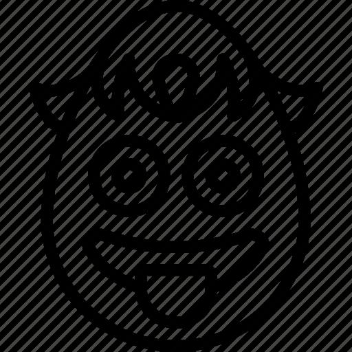 boy, cheeky, emojis, emotion, face, smiley, tongue icon