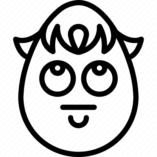 boy, emojis, emotion, face, guilty, smiley, whistle icon