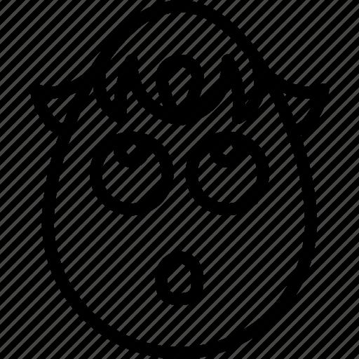 boy, emojis, emotion, face, greif, shocked, smiley icon