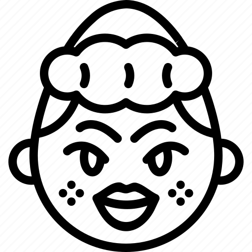 emojis, emotion, face, girl, kiss, lips, smiley icon