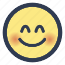 emoji, eyes, face, smiling icon