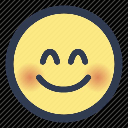 emoji, eyes, face, smiling icon