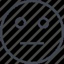 avatar, face, neutral, serious