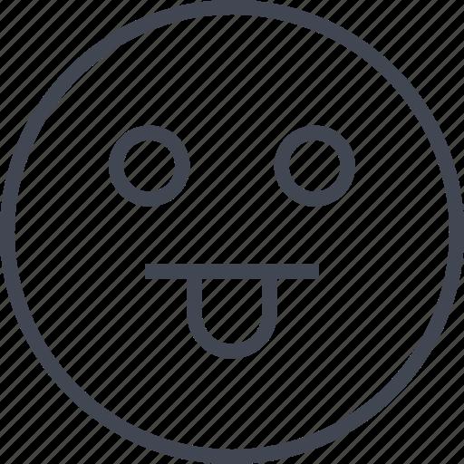 avatar, emoji, face, goofy icon