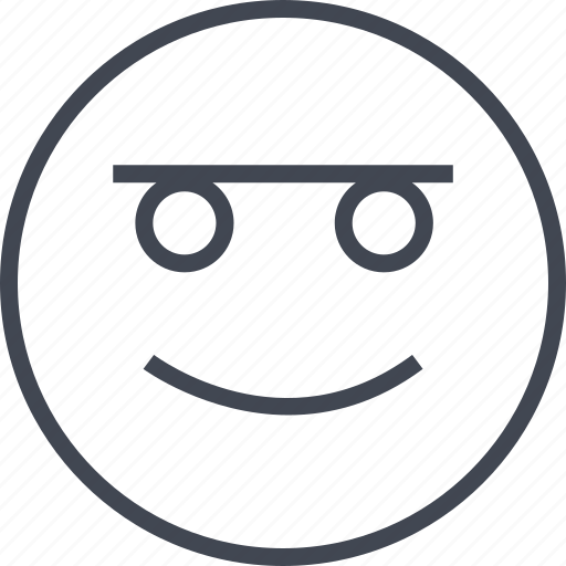 happy, joyful, smile, user icon