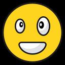 emoji, emoticon, happy, laugh, smila