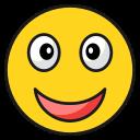emoji, emoticon, happy, laugh, smile