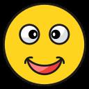 emoji, emoticon, happy, love, smile