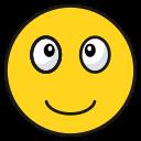 emoji, emoticon, happy, smile