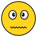 emoji, emoticon, happy, smileawkward