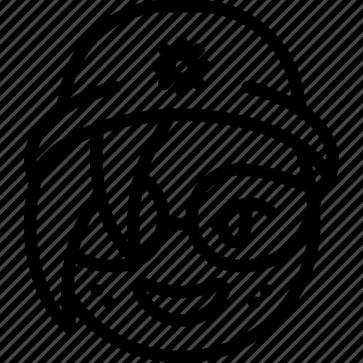 beanie, emojis, emotion, face, girl, glasses, smiley icon