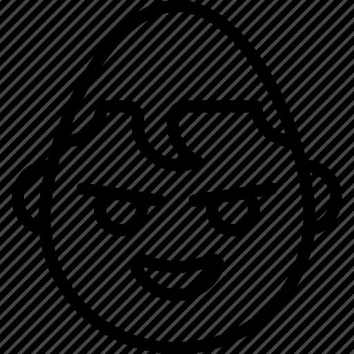 emojis, emotion, face, happy, hero, smiley, superman icon