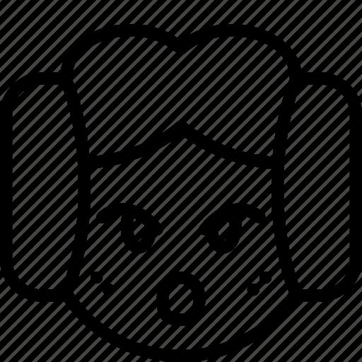 emojis, emotion, face, leia, oh, princess, smiley icon
