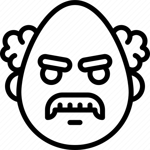 angry, emojis, emotion, face, man, professor, smiley icon