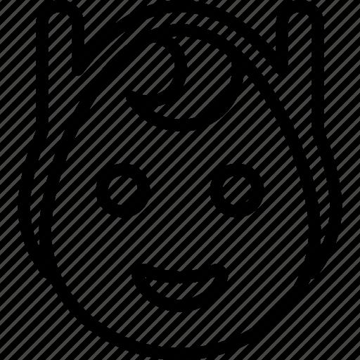 emojis, emotion, face, finn, happy, human, smiley icon